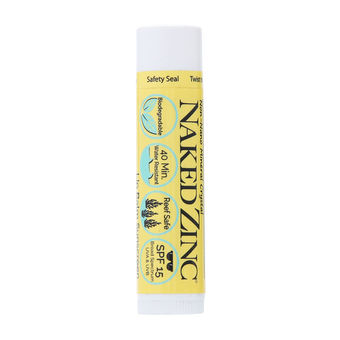 Naked Zinc SPF 15 Lip Balm Sunscreen - Apothecary Gift Shop