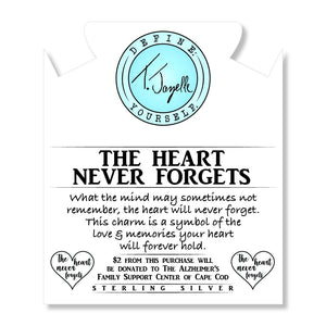 T. Jazelle The Heart Never Forgets Bracelet