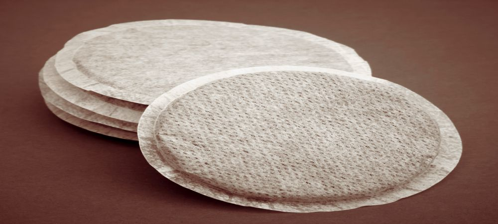 coffee pods filter paper