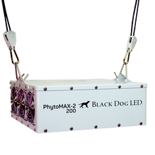 Load image into Gallery viewer, Black Dog LED PHYTOMAX-2 200 LED GROW LIGHTS