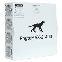 Load image into Gallery viewer, Black Dog LED PHYTOMAX-2 400 LED GROW LIGHTS
