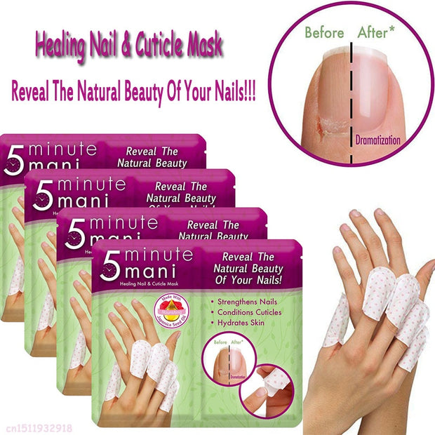 Healing Nail Cuticle Mask 4 Pack Set of 5
