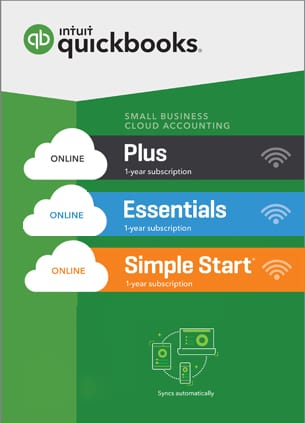 Quickbooks ONLINE Simple Start, Essentials, Plus or Advanced 2020