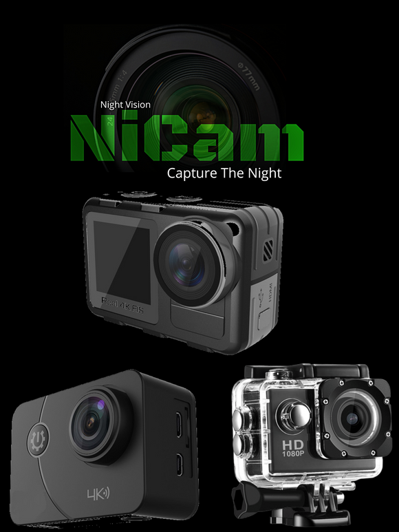 NIGHT VISION ACTION CAMERAS