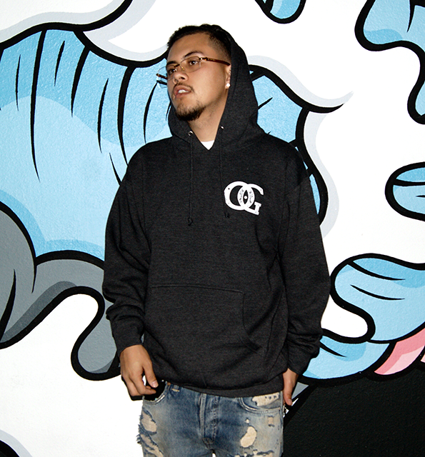 Ocean Grown Charcoal Grey Logo Hoodie