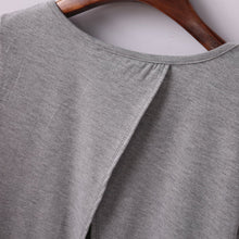 Load image into Gallery viewer, Sexy Brandy Melville AA Style Harajuku Camiseta Soft Back Slit Pullover T-Shirt Women Short Sleeve Tee dames kleding Top 3 Color