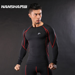 Men's Compression Shirt Camouflage Crossfit