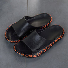 Load image into Gallery viewer, Summer Men Slippers Beach Shoes Male Flip Flops Lightweight Fashion New Arrival Lovers Couple Slippers Unisex Bathroom Slides