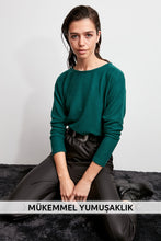 Load image into Gallery viewer, Trendyol Eyelash Basic Knitted Blouse TWOAW20BZ0289