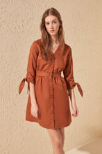 Load image into Gallery viewer, Trendyol Button Dress TWOSS20EL0139