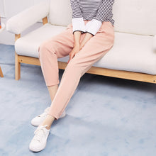 Load image into Gallery viewer, Metersbonwe New Casual Pants For Women Trousers Woman High Quality Office Lady Pants Slim fit simple All-match Beam feet Pants