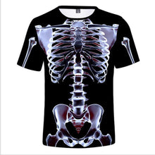 Load image into Gallery viewer, Men's 3D T-Shirt Bodybuilding Simulated Muscle Tattoo T-Shirt Casual nude skin chest muscle Tee Shirt Funny Short-Sleeve Clothes