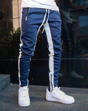 Load image into Gallery viewer, Mens Joggers Casual Pants Fitness Men Sportswear Tracksuit Bottoms Skinny Sweatpants Trousers Black Gyms Jogger Track Pants