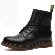 Load image into Gallery viewer, 39-46 men boots brand 2019 fashion comfortable boots leather #NX1460