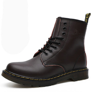 39-46 men boots brand 2019 fashion comfortable boots leather #NX1460
