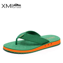 Load image into Gallery viewer, XMISTUO Summer Tide Slippers  Non-slip Cool Flip-Flops Breathable Thick-soled Sandals Slippers Toe Sandals