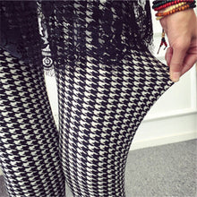 Load image into Gallery viewer, CUHAKCI Women Leggings Fashion Plaid Printing Legging Sexy Leggings Fitness Leggins Grid Floral Stripe Trouser High Waist Pants