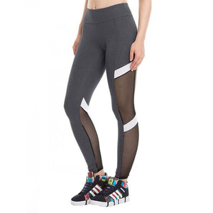 Fitness Legging Sexy Mesh Womens Leggings Women Black Pants Sexi Anti Cellulite Leggins Modis Jeggings Activewear Sportleggings