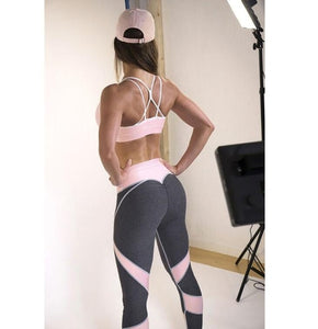 Qickitout Leggings Fashion Womens Cartoon Ice Cream God Horse Leggings Print Fitness Legging Sexy Silm Leging Star Stretch Pants