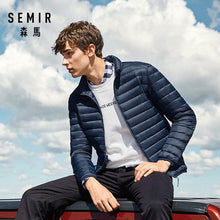 Load image into Gallery viewer, SEMIR 2019 Down Jacket Men Winter Portability Warm 90% White Duck Down Hooded Man Coat jaqueta masculino chaqueta hombre