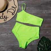 One Strap Tube Bikini - Lemonkini