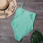 Retro Single Strap One Piece - Lemonkini