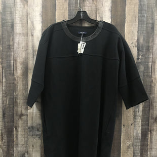 Primary Photo - BRAND: MADEWELL STYLE: DRESS SHORT LONG SLEEVE COLOR: BLACK SIZE: L SKU: 242-24298-5994