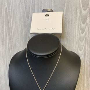 Primary Photo - BRAND: ANN TAYLOR LOFT STYLE: NECKLACE COLOR: SILVER SKU: 242-24212-18795