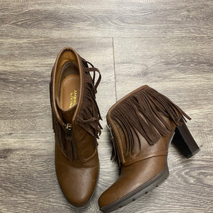 Primary Photo - BRAND: AMERICAN LIVING STYLE: BOOTS ANKLE COLOR: BROWN SIZE: 8 SKU: 242-24212-18565