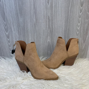 Primary Photo - BRAND: BAMBOO STYLE: BOOTS ANKLE COLOR: TAN SIZE: 7 SKU: 242-24213-125638