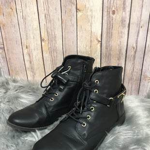 Primary Photo - BRAND: EXPRESS STYLE: BOOTS ANKLE COLOR: BLACK SIZE: 9 SKU: 242-24264-38259