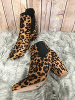 Photo #1 - BRAND: YOKI <BR>STYLE: BOOTS ANKLE <BR>COLOR: ANIMAL PRINT <BR>SIZE: 8 <BR>SKU: 242-24235-15763