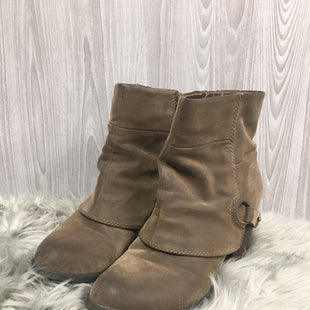 Primary Photo - BRAND: FERGALICIOUS STYLE: BOOTS ANKLE COLOR: TAUPE SIZE: 9 SKU: 242-24264-41252
