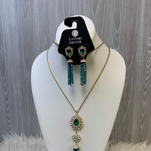 Primary Photo - BRAND: MATERIAL GIRL STYLE: NECKLACE SET COLOR: GREEN SKU: 242-24264-45745