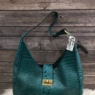 Primary Photo - BRAND: BRAHMIN STYLE: HANDBAG DESIGNER COLOR: BLUE GREEN SIZE: LARGE SKU: 242-24290-2616814 BY 10