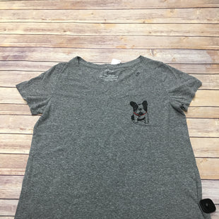 Primary Photo - BRAND: TORRID STYLE: TOP SHORT SLEEVE COLOR: GREY SIZE: 1X SKU: 242-24264-37743