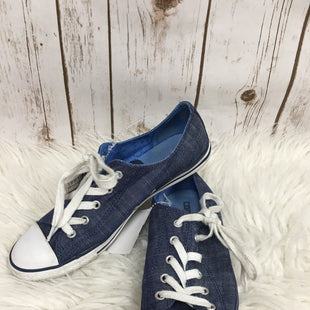 Primary Photo - BRAND: CONVERSE STYLE: SHOES ATHLETIC COLOR: BLUE SIZE: 7.5 SKU: 242-24298-5469