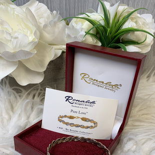 Primary Photo - BRAND:    CLOTHES MENTOR STYLE: BRACELET COLOR: GOLD OTHER INFO: PURE LOVE - SKU: 242-24211-6730