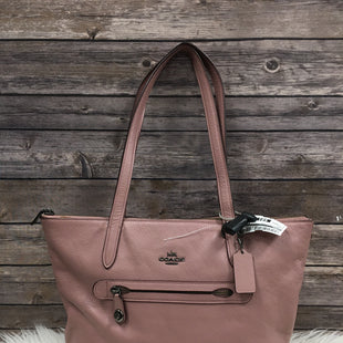 Primary Photo - BRAND: COACH STYLE: HANDBAG DESIGNER COLOR: PINK SIZE: LARGE SKU: 242-24213-11698012 BY 11