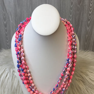 Primary Photo - BRAND: LILLY PULITZER STYLE: NECKLACE COLOR: PINK SKU: 242-24213-118189ADJUSTABLE LENGTHS