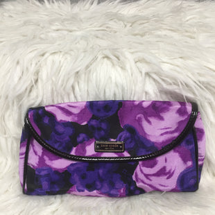 Primary Photo - BRAND: KATE SPADE STYLE: CLUTCH COLOR: PURPLE SKU: 242-24264-43013