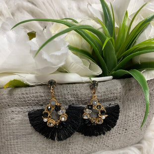 Primary Photo - BRAND:    CLOTHES MENTOR STYLE: EARRINGS COLOR: BLACK SKU: 242-24287-3309