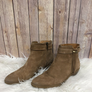 Primary Photo - BRAND: NINE WEST STYLE: BOOTS ANKLE COLOR: TAN SIZE: 9.5 SKU: 242-242102-1885