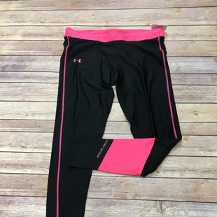 Primary Photo - BRAND: UNDER ARMOUR STYLE: ATHLETIC PANTS COLOR: PINKBLACK SIZE: XL SKU: 242-24264-37698