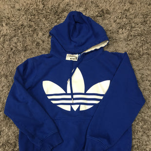 Primary Photo - BRAND: ADIDAS STYLE: SWEATSHIRT HOODIE COLOR: ROYAL BLUE SIZE: M SKU: 242-242125-12