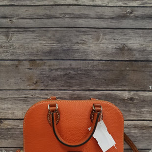 Primary Photo - BRAND: DOONEY AND BOURKE STYLE: HANDBAG DESIGNER COLOR: ORANGE SIZE: SMALL SKU: 242-24264-37106. 9X7.
