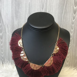 Primary Photo - BRAND:    CLOTHES MENTOR STYLE: NECKLACE COLOR: RED OTHER INFO: NECKLACE TASSLE - SKU: 242-242123-210