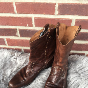 Primary Photo - BRAND:    CLOTHES MENTOR STYLE: BOOTS ANKLE COLOR: BROWN SIZE: 8 OTHER INFO: HENRY CUIR - SKU: 242-24213-125308