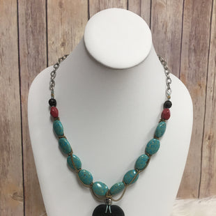 Primary Photo - BRAND: LUCKY BRAND O STYLE: NECKLACE COLOR: TURQUOISE SKU: 242-24287-1687
