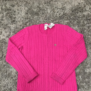 Primary Photo - BRAND: LILLY PULITZER STYLE: SWEATER LIGHTWEIGHT COLOR: HOT PINK SIZE: L SKU: 242-24212-18727